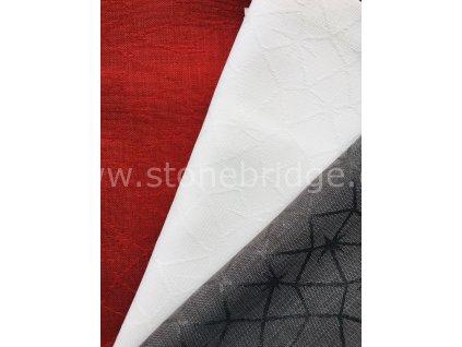 Sander Loft Star, středové pásy - 2 velikosti, různé barvy