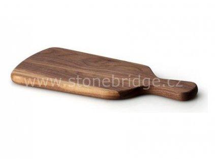 Continenta krájecí deska s držadlem ořech, rozměr 30,5cm (C4206)