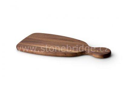 Continenta krájecí deska s držadlem ořech, rozměr 34,5cm (C4207)