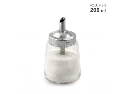 15053 01 Zuckerspender Glas Edelstahl 200 ml Karl Weis