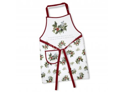Holly Ivy Cotton Apron