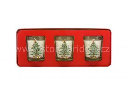 Wax Lyrical Christmas Tree set 3 svicek