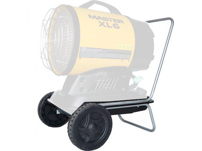 Podvozek s koly pro topidlo XL 6