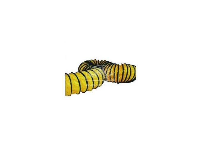 Hadice žlutá pružná 407 mm/7,6 m pro BV110/BV170/B30epr
