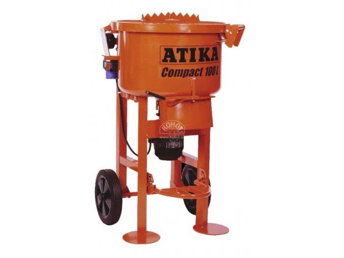 Stavební míchačka talířová Compact 100 Atika (DOPRAVA ZDARMA)