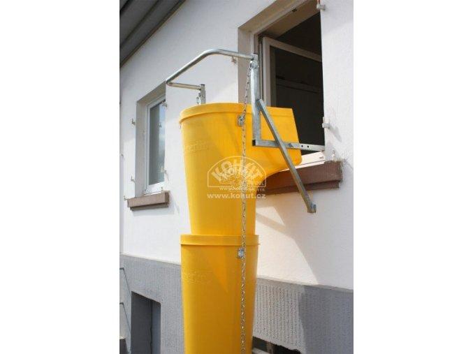 Úchyt shozů do okna Haemmerlin (pro max. 14 shozů)  (DOPRAVA ZDARMA)
