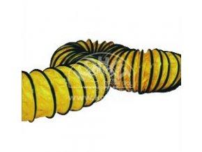 Hadice žlutá pružná 407 mm/15 m pro B30epr