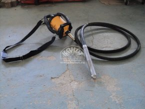 Ponorný vibrátor ENAR Dingo vč. vibrační hřídele (použitý)