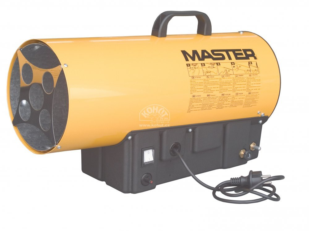 Master BLP 16 M Plynové topidlo
