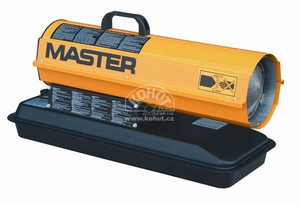 Master B 65 CEL Mobilní naftové topidlo