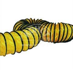 Hadice žlutá pružná 508 mm/7,6 m