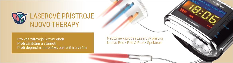 Laserové zdravotnické přístroje NUOVO THERAPY