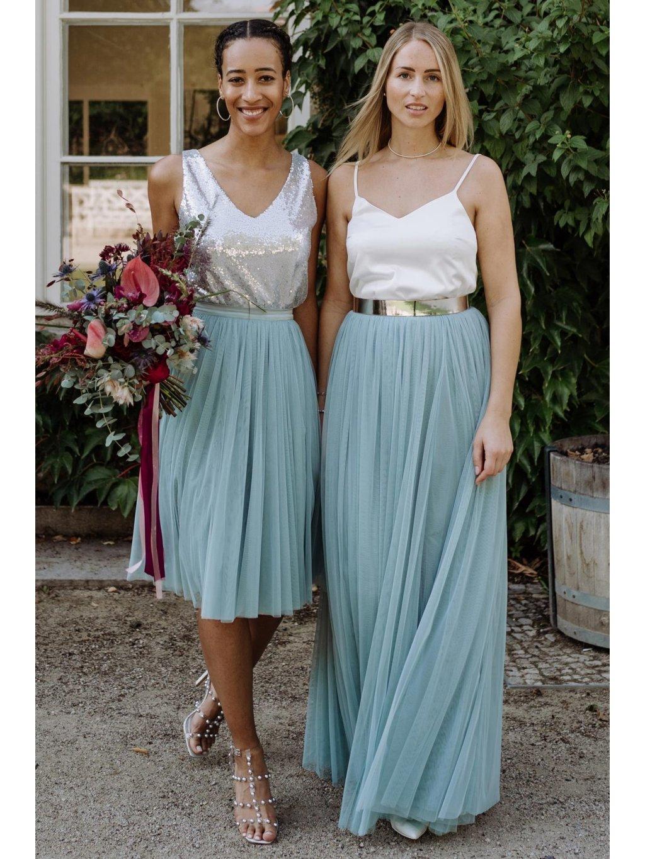 constant love tylova sukne dlouha midi host svatba na urade saty pro druzicky matova zelena kratka 4 1800x1800
