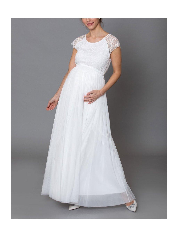 constant love tylova sukne seda ruzova staroruzova svatba na urade saty pro druzicku bila smetanova dlouha 2
