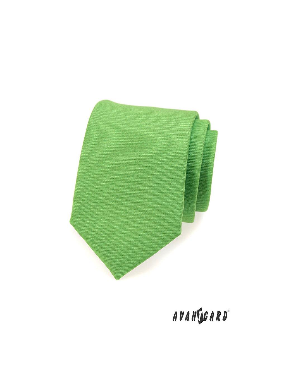 Kravata AVANTGARD LUX zelená 561-9829-0