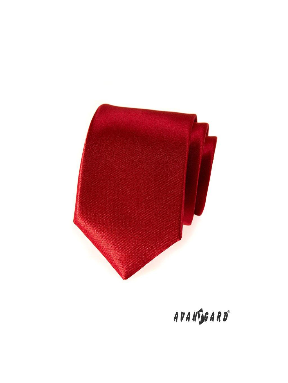 Kravata AVANTGARD LUX červená 561-9005-0