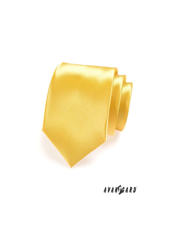 Kravata AVANTGARD LUX žlutá 561-9027-0
