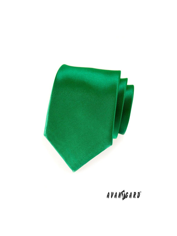 Kravata AVANTGARD LUX zelená 561-9046-0