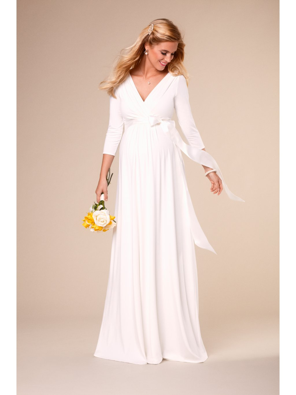 WILIL S1 Willow Gown Long Ivory