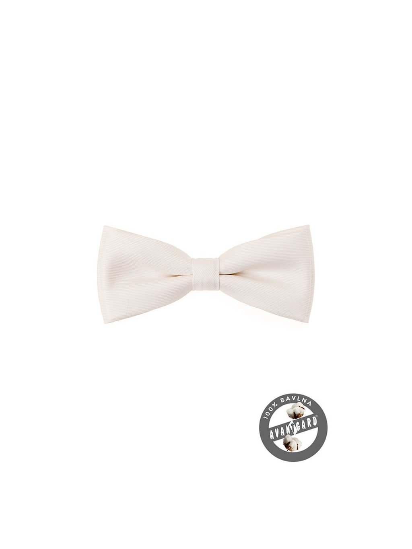 Motýlek PREMIUM svatební smetanový 600-51008-0