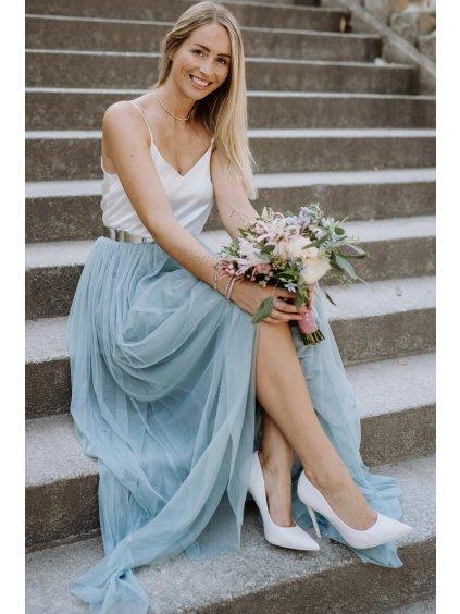 andcompliments online shop moda skirt tylova sukne pro nevestu tyl nevesta svatba svatebni sukne ruzova saty pro druzicku pastelova svetle matova dusty mint dlouha 7 1800x1800