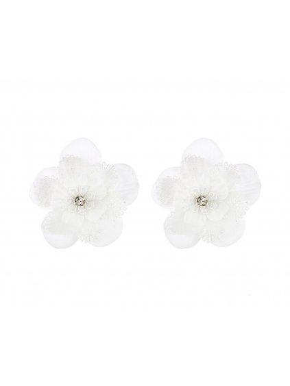 spona clips na svatebni obuv AURORA květina 2
