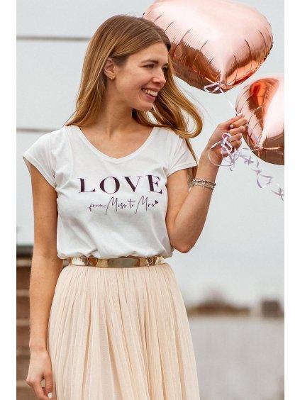 nevesta triko na rozlucku 4 constant love online shop svatebni andcompliments praha team nevesta tylova sukne