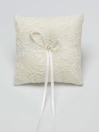 Studioagnes polstarek na prstynky Bianco Evento bridal pillow K5 (1)