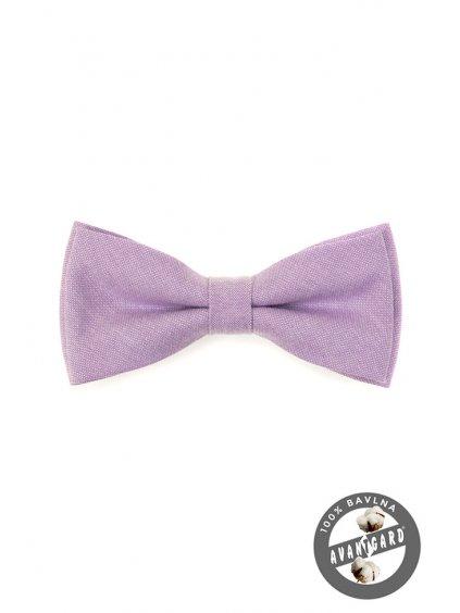 Motýlek PREMIUM svatební fialový 600-5129-0