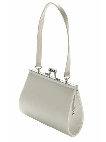 studioagnes svatebni satenova kabelka puristicka minimalisticka minimalismus puristische henkeltasche 05 191 CR (2)