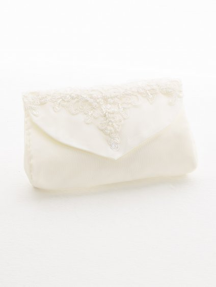 studioagnes Bianco Evento bridal handbag kabelka psanicko s krajkou svatebni pro nevestu T12 (1)