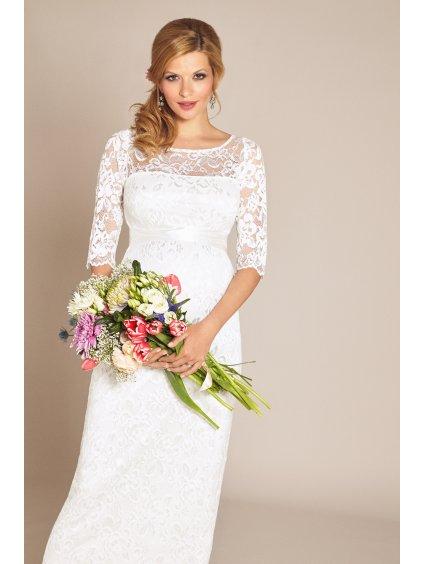 AMLIL S6 Amelia Dress Ivory Long