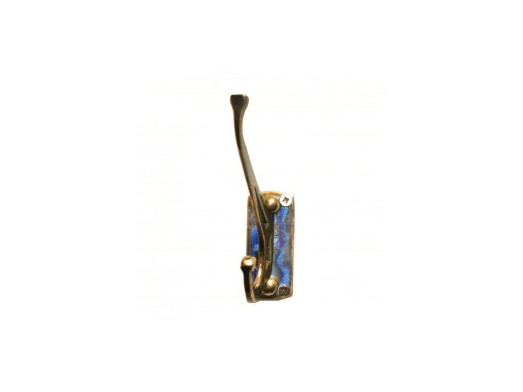 Nástěnný kovový háček single