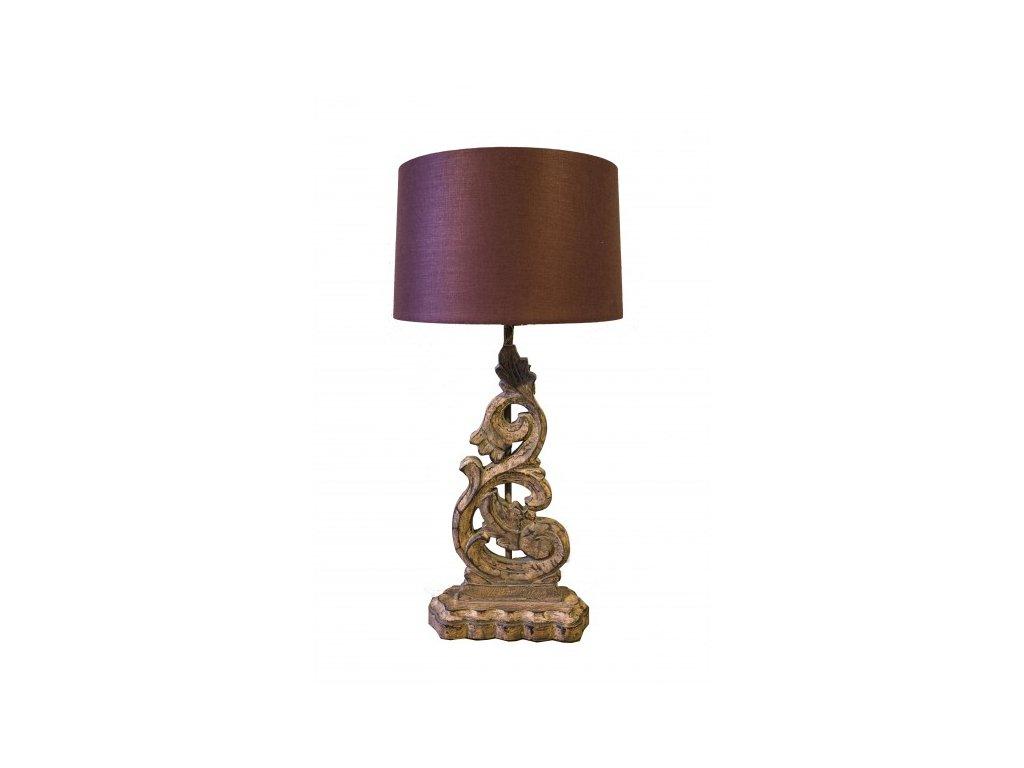 lampa vyrezavana mala