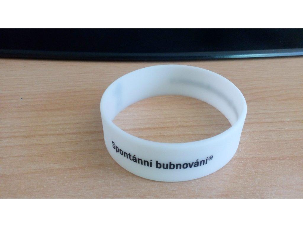 Silikonový náramek: Spontánní bubnování®