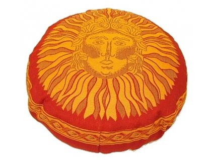 vyr 34taburetka cervena slunce