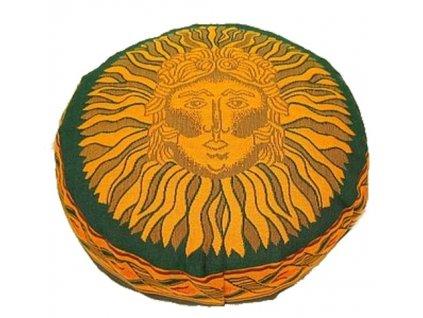 vyr 35taburetka zelena slunce