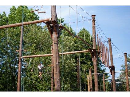 Návštěva lanového centra na Malé Skále - dospělí