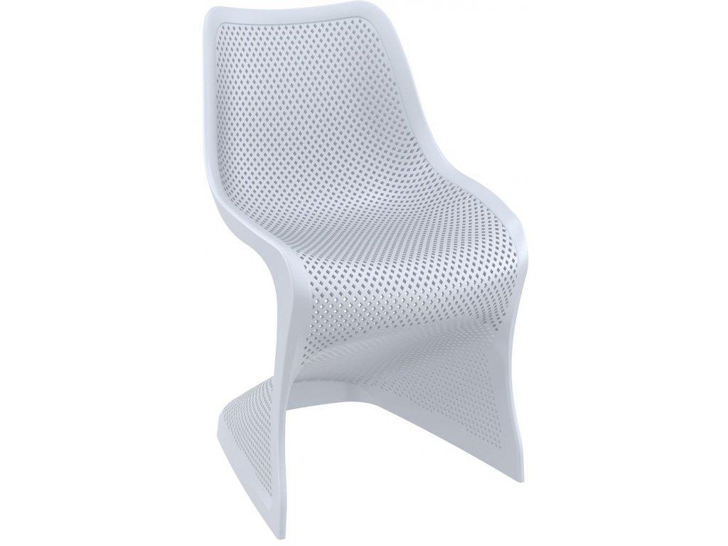 židle BLOOM (Barva Stříbrná šeď)