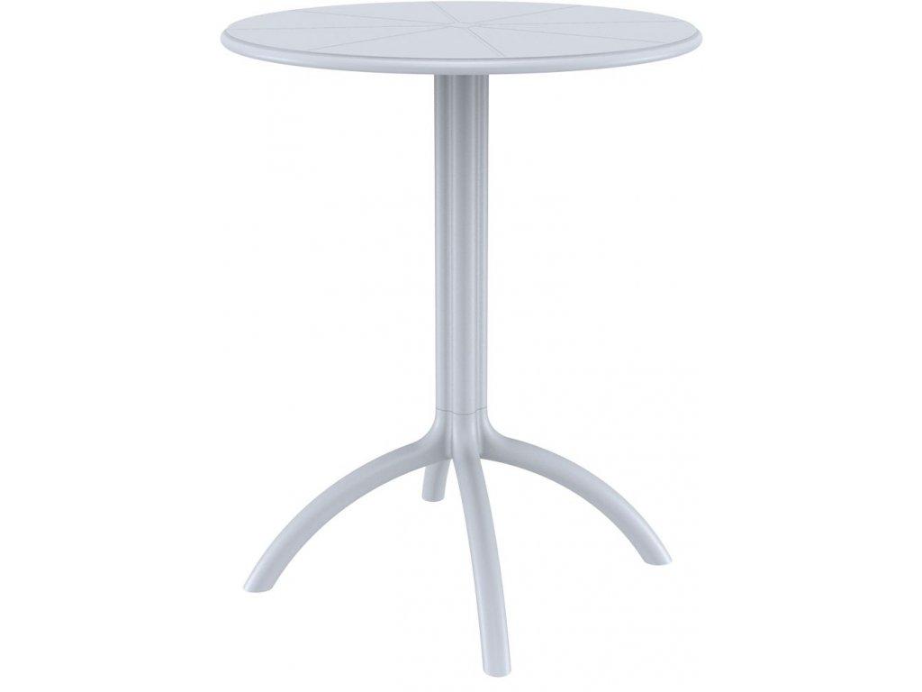 stolek OCTOPUS 60 (Barva Stříbrná šeď)