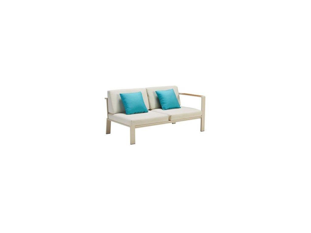 Dvoumístná sedačka Nofi pravý roh