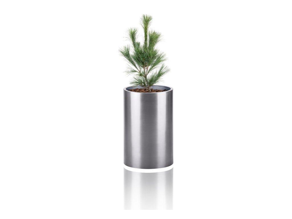 Samozavlažovací květináč kulatý malý Kasper