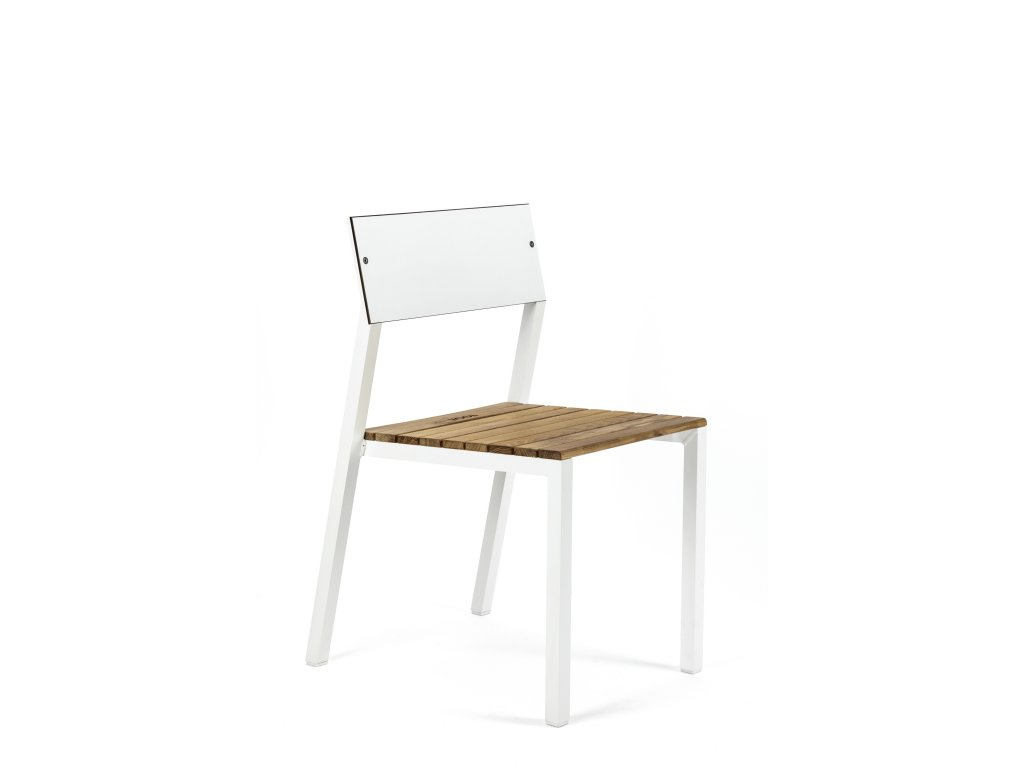 Zahradní židle Cora HPL+dřevo