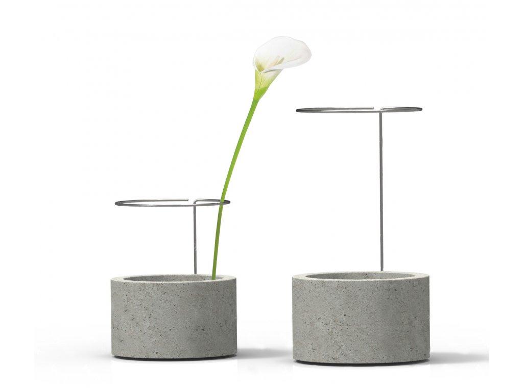 Betonová váza Shallow
