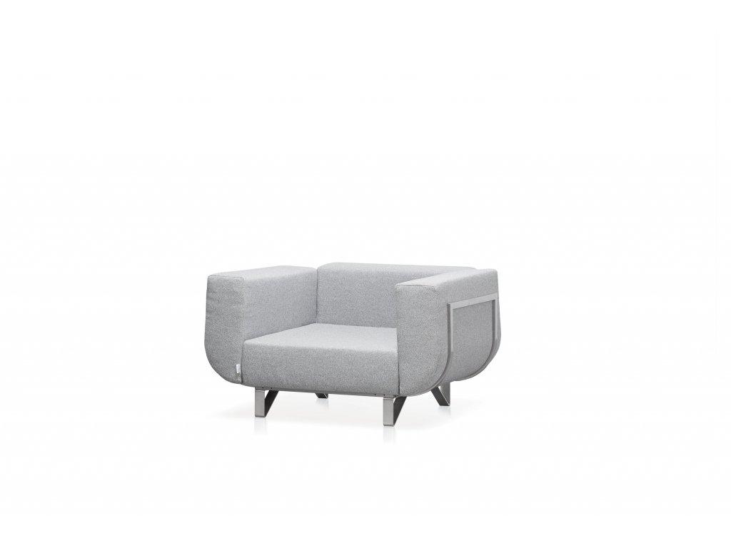 Modulární sedačka Lotos l křeslo