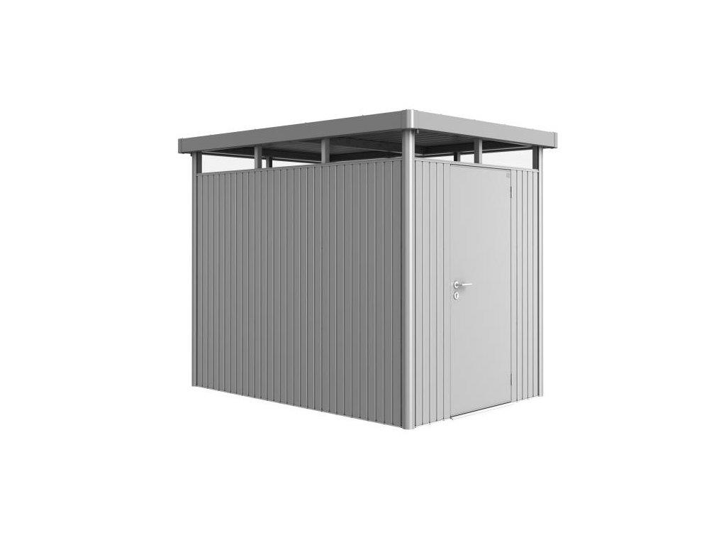 Biohort Zahradní domek HIGHLINE® HS, stříbrná metalíza