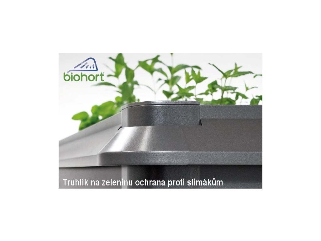 Biohort Nepřekonatelná ochrana proti hlemýžďům 1 x 1 šedý křemen metalíza
