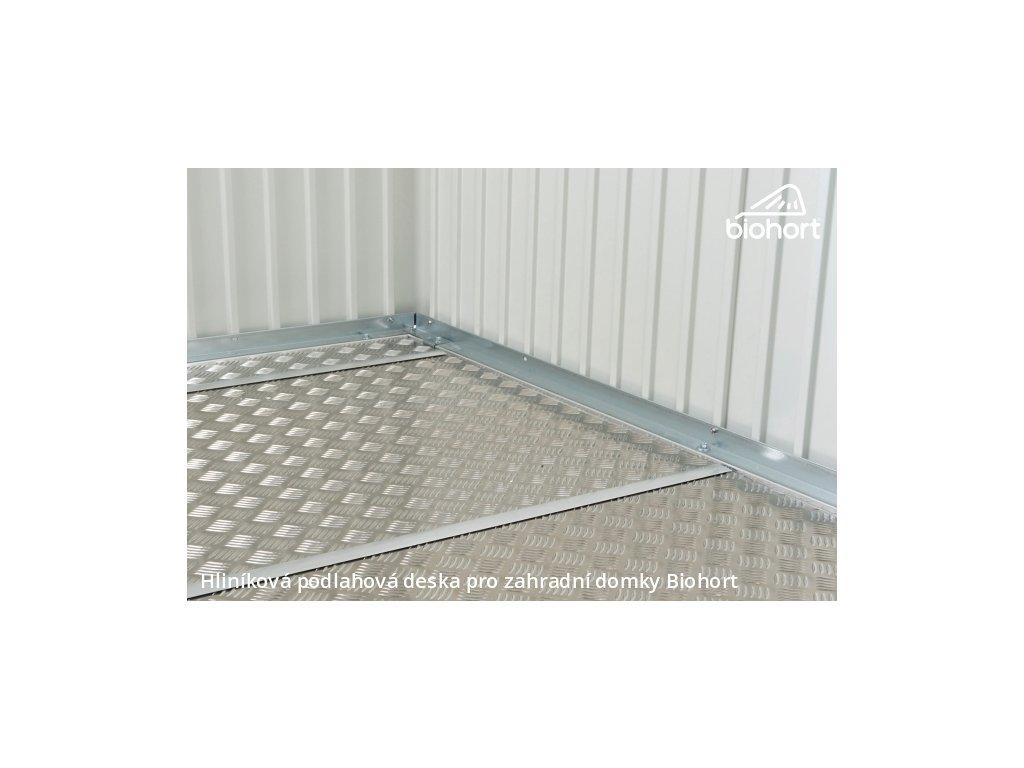 Biohort Hliníková podlahová deska pro HIGHLINE® H3, AVANTGARDE A6 a PANORAMA P3