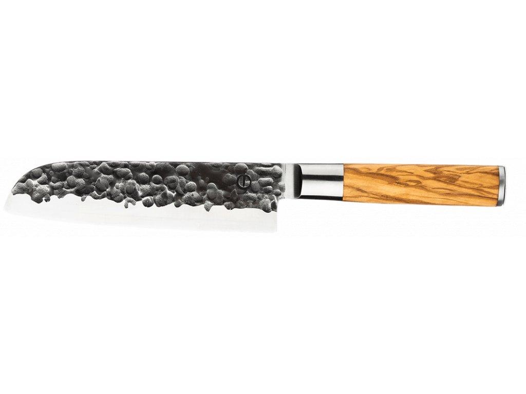 Nůž Santoku 18cm Olive