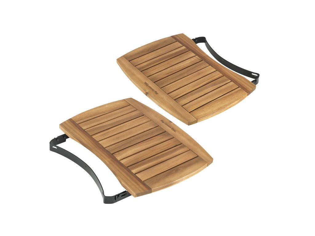 Akátové postranní stolky XL